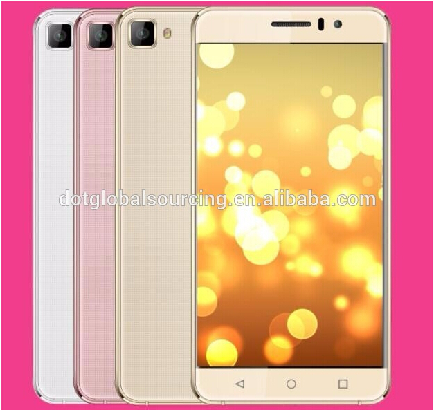 Hot Sale 5 Inch Android 5.1 System Quad Core 5+2MP Camera Smart 3G Mobile Phone