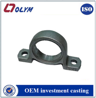 OEM factory made bearing bracket quality products stainless steel investment casting