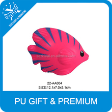 colorful tropical fish stress toy polyurethane