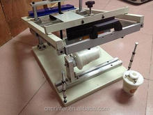 CHINA MADE very cheap mini manual operateing single color cylinder screen printing machine with high quality