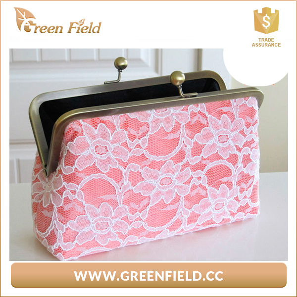Trend Fashion Evening Bag Clutch Bags Woman Silk Elegant Dinner Ladies' White Clutches