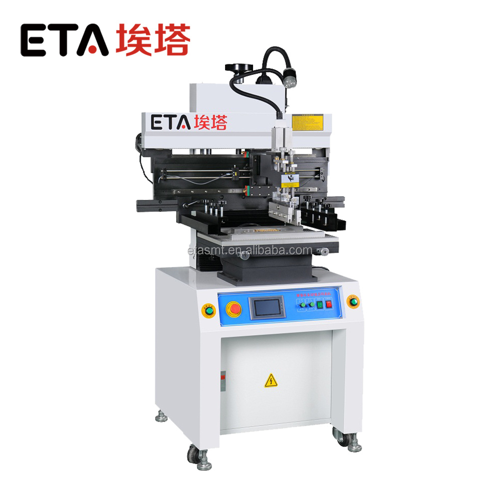 High Precision SMT Manual Stencil Printer 1200mm Used in Printing Solder Paste