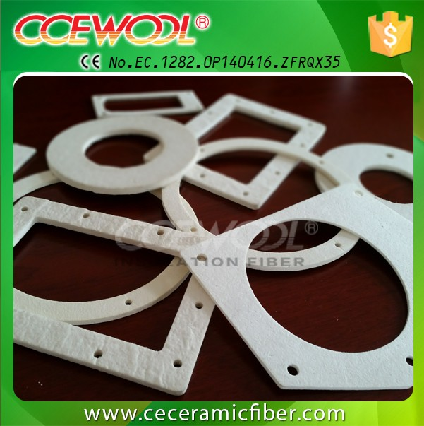 CCEWOOL 1450 low Thermal Conductivity CeramicFiber Wool Paper Gasket