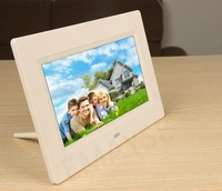 "10.1"" inch 1024*600 Hi-Res Digital LED Photo Frame with Motion Sensor Supported SD/MMC/MS/USB digital picture display hd"