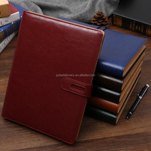High Quality Leather Loose Leaf Binder Notebook