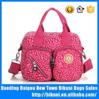 Wholesale online women fashion nylon diaper tote messenger bag