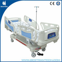 BT-AE001 Two column vertical lifting system hospital electric icu turn-over bed