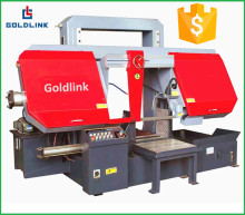 Horizontal gantry metal cut band saw machine