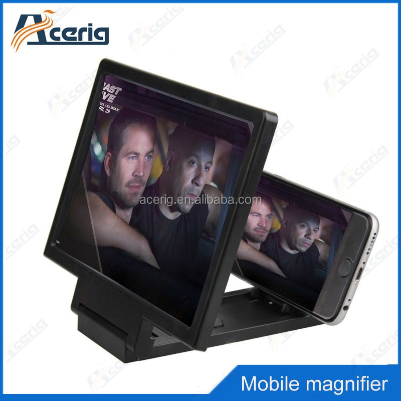 2016 hot selling mobile phone lcd led screen magnifier helpful for your enjoy video