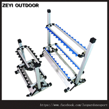 Portable Fishing Rod Aluminum Fishing Rod Holder Rod Stand On Sale