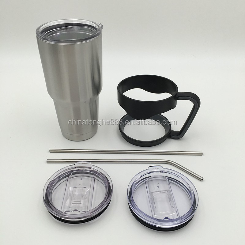 Handles And Straws for Hot Sale 30oz 304 Stainless Steel Tumblers