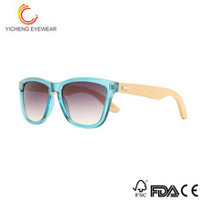 Cheap Natural promotional bamboo okeyable sunglasses