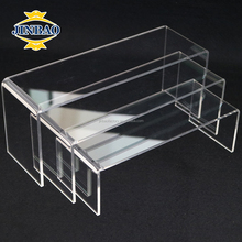 JINBAO handmade high-end acrylic riser display stand jewelry display