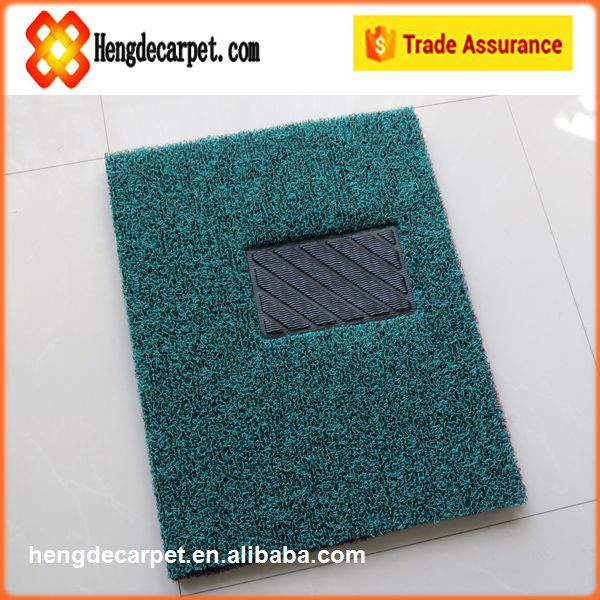 clear plastic car mats,anti slip pvc coil floor mat for auto from hengde