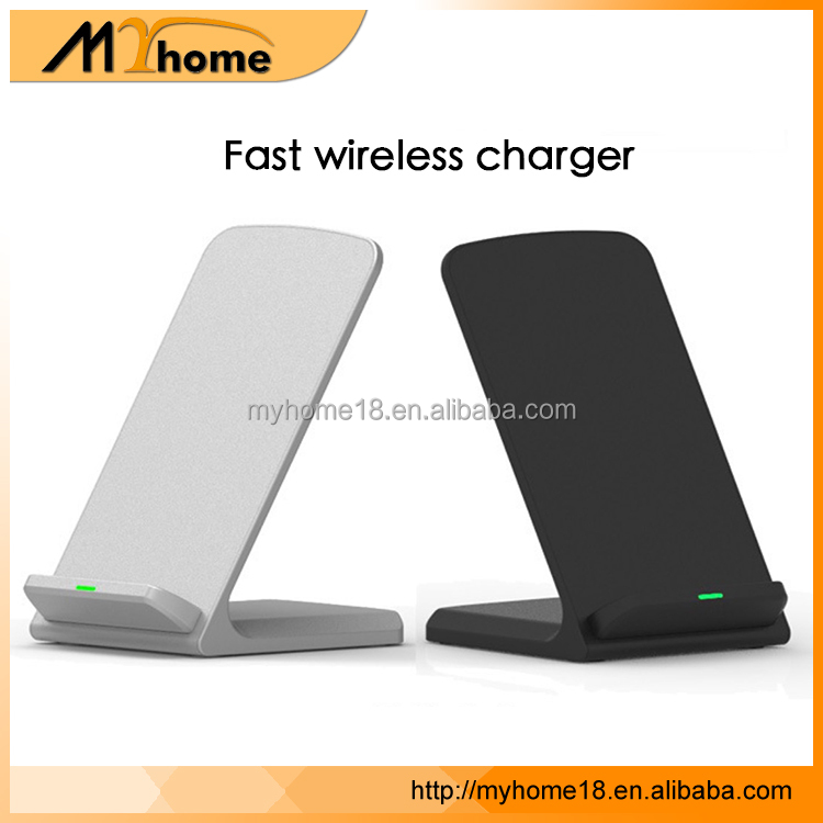 Factory cheap price fast QI wireless charger for samsung S8/S8+ wireless charger for iphone X