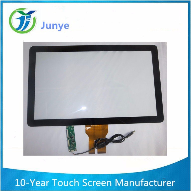 Large format capacitive touch panel 32 inch multi touch screen overlay