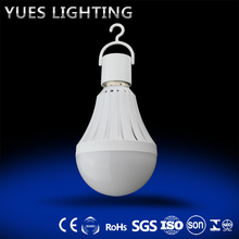 2017 Best selling new products in south africa E27 B22 base 5w 7w 9w battery operated led light rechargeable