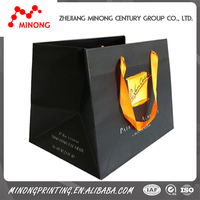 Wholesale design handmade cotton rope paper bag