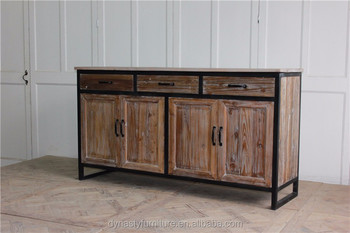 vintage style furniture wood dining sideboard
