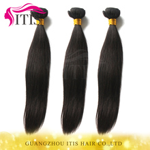 Large stock latest fashion pretty good straight hair and supreme remy hair weave