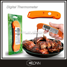 Meat temperature instruments 4S instant read barbecue thermometer with meat temperature chart