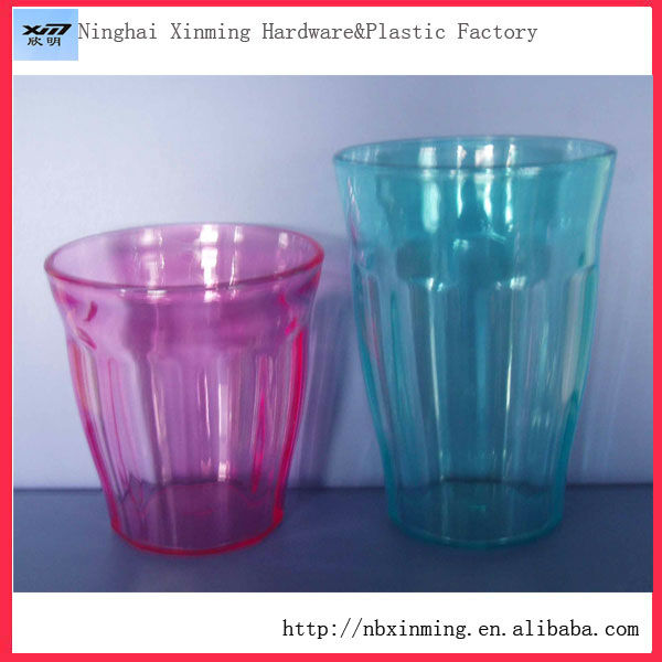Reusable clear Plastic Cups