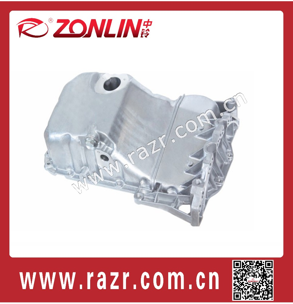 ZL-AV1041 Auto parts cast aluminum pan for audi A4 B5 1.8T volkswagen passat engine oil sump OEM 058103598C / 058 103 598C