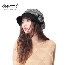 Warm Hats For Women China Wholesale Spring Winter Cloche Lady Hat