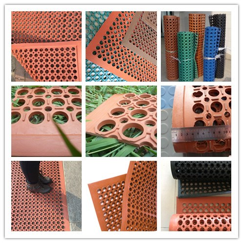 Cheap Interlocking Anti fatigue antislip garage Rubber mat/rubber floor mat