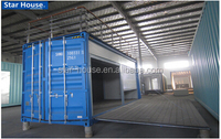 modified container house for shop store/ modified container shop store
