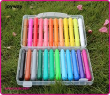 24colors Washable Fancy Silky Twist Gel Oil pastel, Non toxic