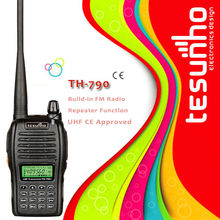 TESUNHO TH-790 CE approval compact uhf vhf 5w 99 channels amateur transceiver