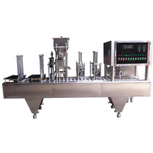 Full Automatic Linear tray sealer food tray sealing machine