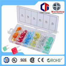 high quality car fuse types assorted 120pc car fuse types