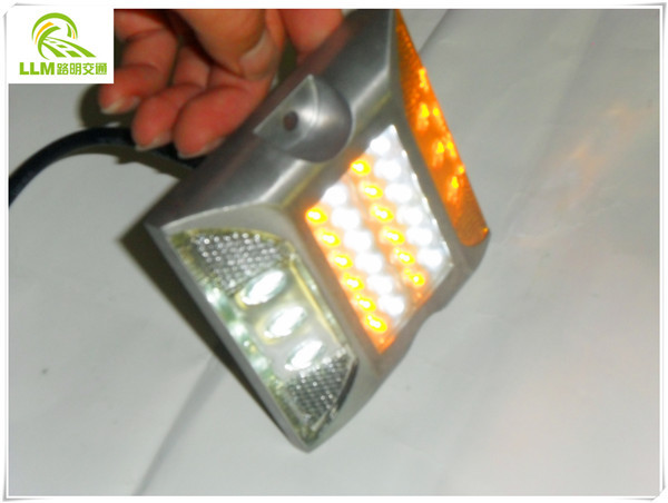 Factory direct tunnel safety use high brightness LED wired aluminum road stud