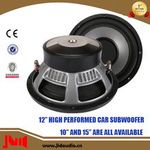 JLDAudio 12 Inch Auto Subwoofer With 400w rms Speaker For Car Audio Subwoofers