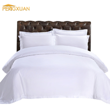 Plain white satin bed sheets set bed cover plain white 100% cotton bed sheet
