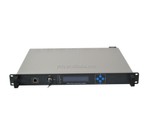 Optical Fiber Amplifier WDM EDFA fibre optic CATV Rack Mount/1550nm dual power pluggable catv edfa digital variable gain amplifi
