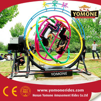 China factory manufacturer amusement rides human gyroscope theme park rides for sale
