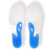 Full Length Insoles With Longitudinal Arch Support-100% Medical Grade Silicone Gel HA00496