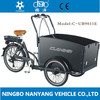 good price Aluminum Alloy wheel 24 intch 3 wheeler 6 speeds 250W electric motor balance bike with disc brake for delivery cargo