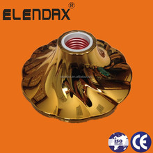 H907 ABS brass colorful B22 E27 ceiling lamp holder