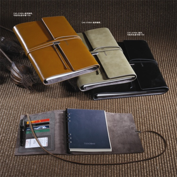 Leather Cover Material and Diary Type vintage leather journals