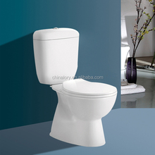 2015 new product sanitary ware washdown two piece toilet hot sale S-trap
