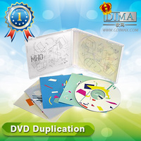 color paper box insert cd dvd replication cheap wholesale lots