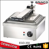 professional kitchen equipment electric panini contact grill sandwich maker with Temperature Control EGD-350