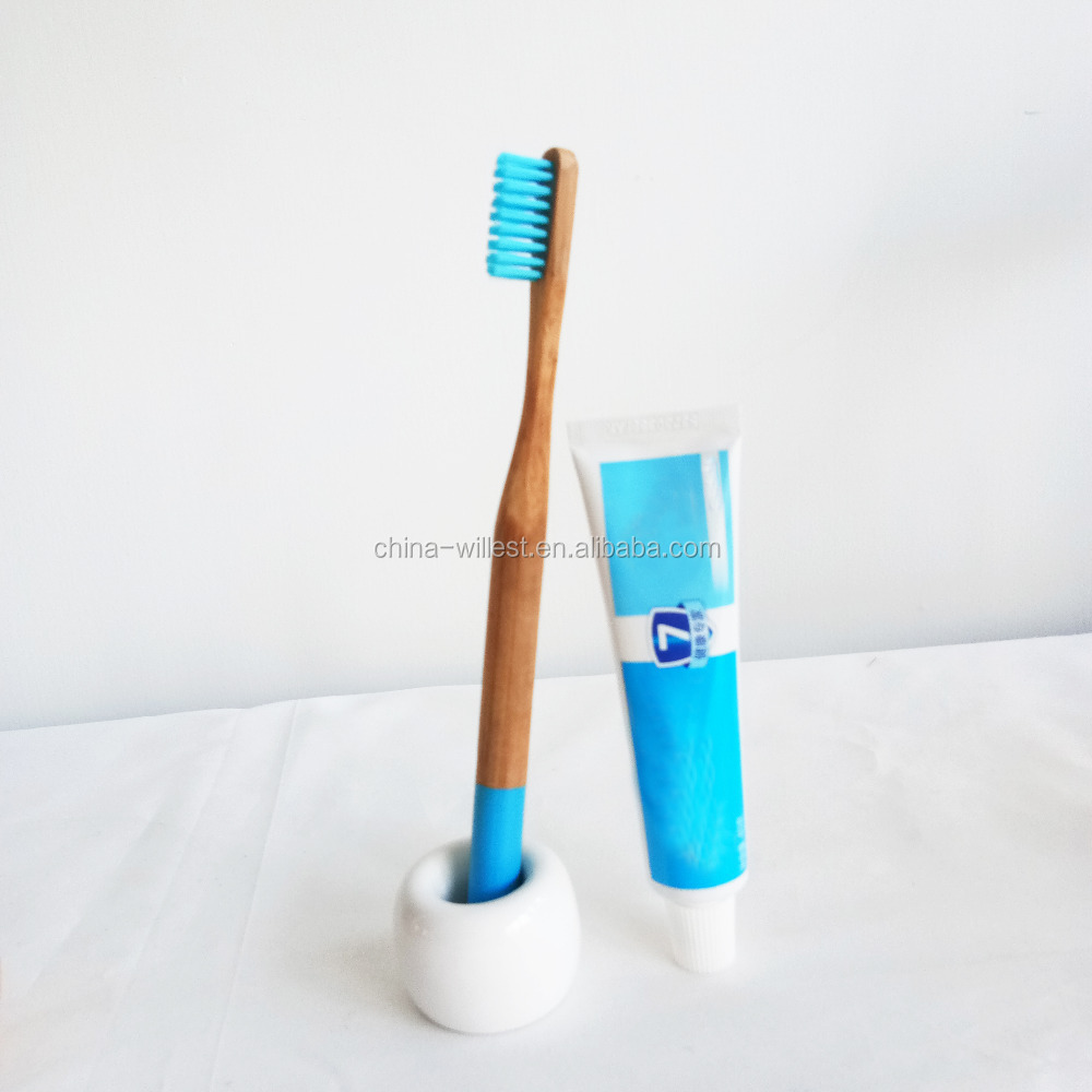 Toothbrush with bamboo pattern-dental hygiene care
