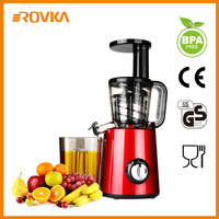 Juice Extractor Commercial Professional Slow Masticating Juicer Vertical Electric Machine Juicer for Vegetable, Fruit
