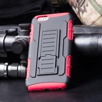 In Stock!Future Armor Impact Skin Holster Protector Cover Case for iphone 6 4.7',For IPhone 6 CASE