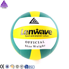 Lenwave brand official size weight volleyball ball custom training best price beach volleyball